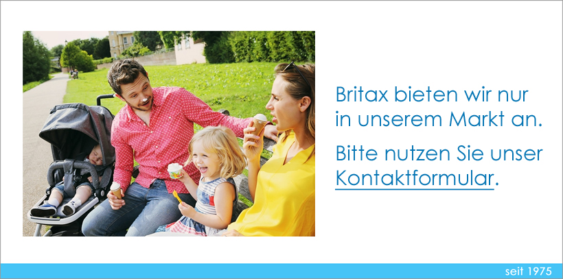 Britax Hinweis