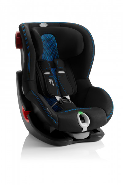 BRITAX RÖMER King II LS Cool Flow Blue - Black Series Kindersitz 2020