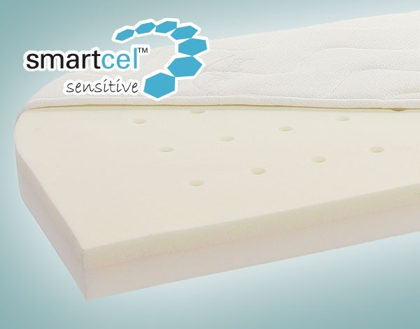 babybay Matratze Smart Comfort extraluftig f/ür Original wei/ß