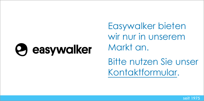 Easywalker Hinweis