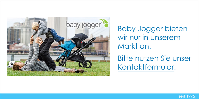 Baby Jogger Hinweis