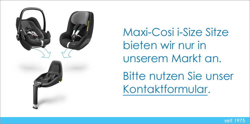 Maxi-Cosi Hinweis