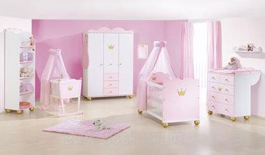 Pinolino Kinderzimmer Prinzessin Karolin 3 Teilig Bett Kommode
