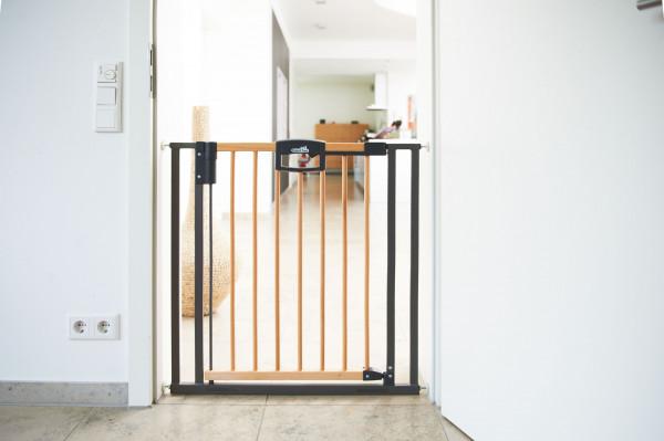 GEUTHER Easylock Wood Plus 2792+ Türschutzgitter Natur / Silber